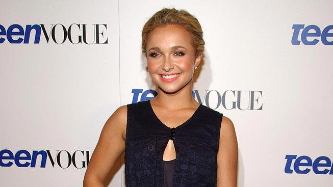 Hayden Panettiere arrives at the Teen Vogue young Hollywood party held at Vibiana.