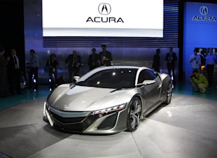 This Yearu0027s Nine Best Examples Of Auto Show Eye Candy, And Also The Bentley  EXP 9 F. Acura NSX