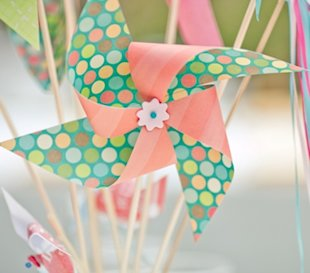 pinwheel wedding ideas