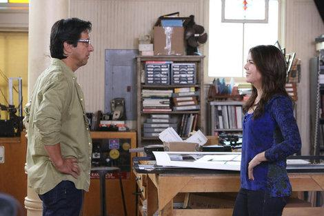 Ray Romano and Lauren Graham talk about their 'Parenthood' relationship