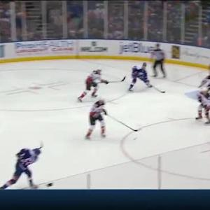 Frederik Andersen Save on Johnny Boychuk (00:59/2nd)