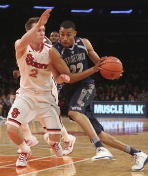 No. 19 Georgetown beats St. John's 67-51 at MSG