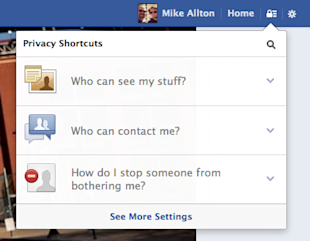 Are You Hiding Your Own Facebook Posts? image Facebook Privacy Settings