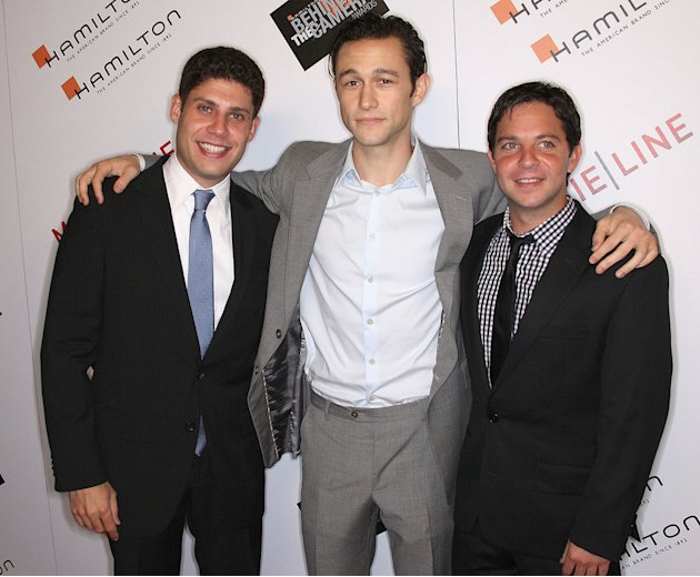 Hamilton Behind the Camera Awards 2009 Michael H. Weber Joseph Gordon Levitt Scott Neustadter