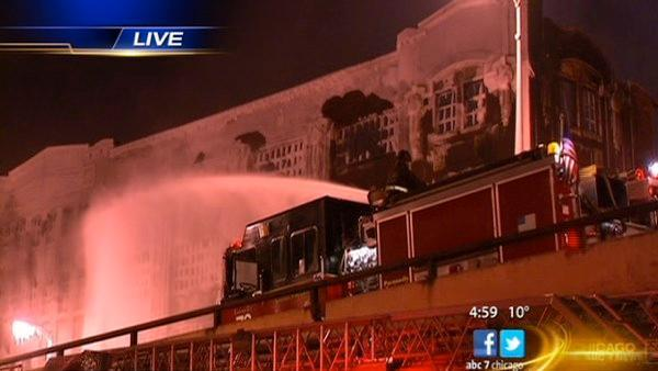 Bridgeport warehouse fire one of biggest in years