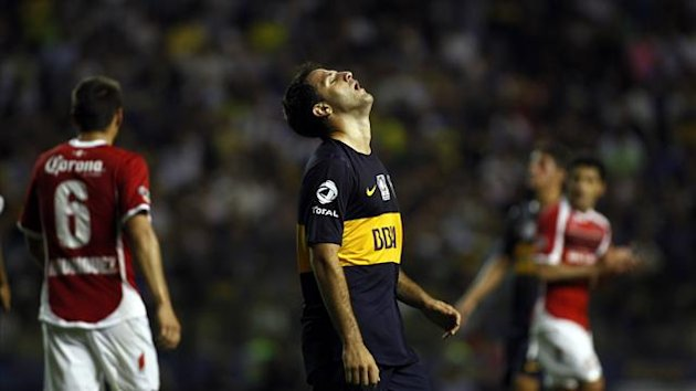 Juan Manuel Martinez, Boca Juniors (Reuters)