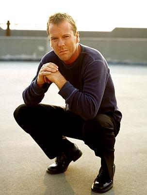 Kiefer Sutherland as Jack Bauer Fox's 24