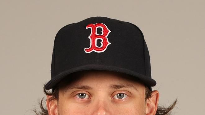 Clay Buchholz Baseball Headshot Photo
