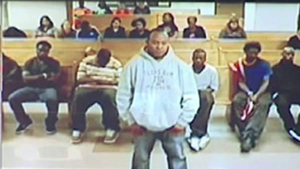 Murder suspect makes first court appearance