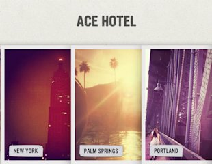 Visual Content: Which Brands Are Showing Marketers How It's Done? image visual content ace hotel