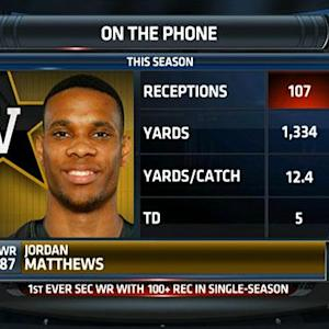 Jordan Matthews talks Vanderbilt football