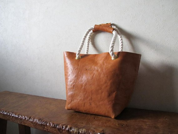 Rope + Linen Tote