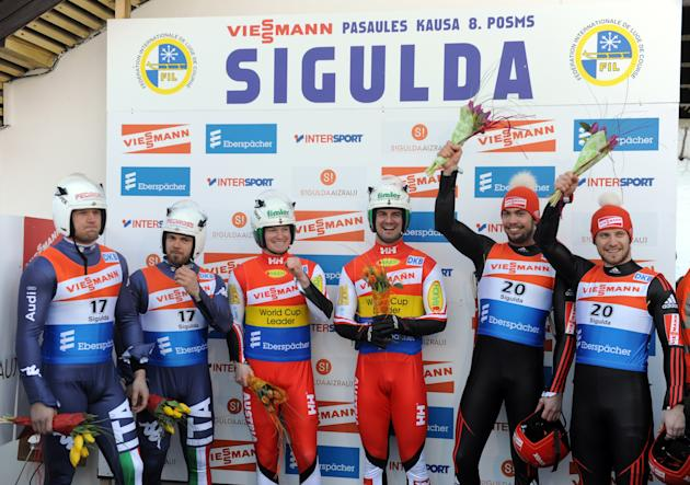 LUGE-WORLD-MEN-PODIUM