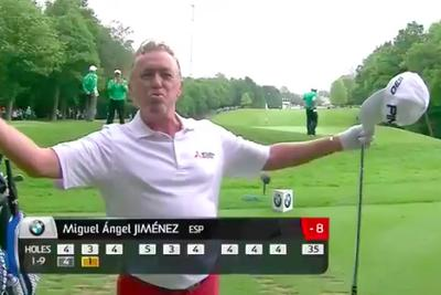 Miguel Angel Jimenez just wants Tiger Woods and Rory McIlroy to have more fun