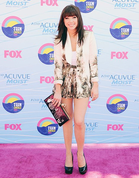 At the Teen Choice Awards this past July