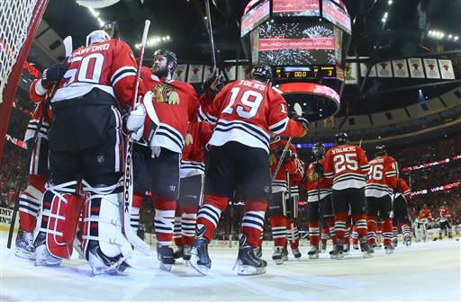 Blackhawks 1 win away from Stanley Cup title