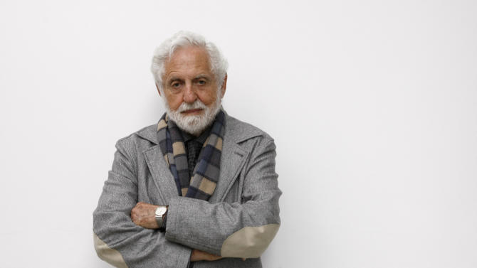"""FILE - In this April 28, 2009 file photo, Carl Djerassi poses for a portrait at Jacobs University in Bremen, Germany. Djerassi, the chemist widely considered the father of the birth control pill, has died of complications of cancer in his San Francisco home, Stanford University spokesman Dan Stober said. He was 91. Djerassi, a professor emeritus of chemistry at Stanford, was most famous for leading a research team in Mexico City that in 1951 developed norethindrone, a synthetic molecule that became a key component of the first birth control pill. """"The pill"""" as it came to be known radically transformed sexual practices and women's lives. (AP Photo/Joerg Sarbach, File)"""
