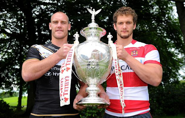 Rugby League - Tetleys Challenge Cup - Final - Wigan Warriors v Hull FC - Media Day - Worsely Park Marriott Hotel