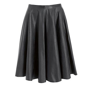 Rocha Leather Skirt: A/W 2012: Gothic: Fashion Trend: Fashion