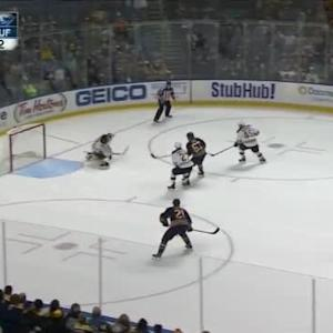 Niklas Svedberg Save on Tyler Myers (00:25/OT)