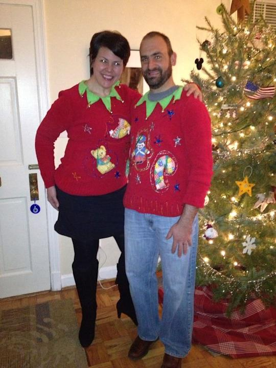 Wacky Holiday Sweaters