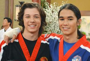Leo Howard and Booboo Stewart | Photo Credits: Eric McCandless/Disney