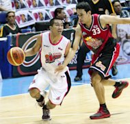 LA Tenorio will now be passing the ball to Dylan Ababou and the other Kings. (PBA Images)