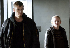 Joel Kinnaman and Mireille Enos | Photo Credits: Carole Segal/AMC