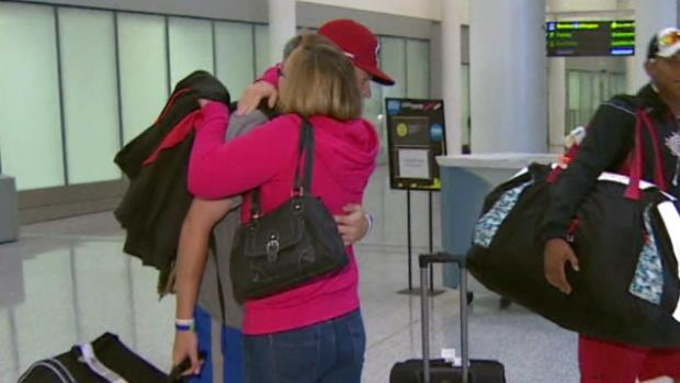 RAW Canadians back after Mexico ordeal