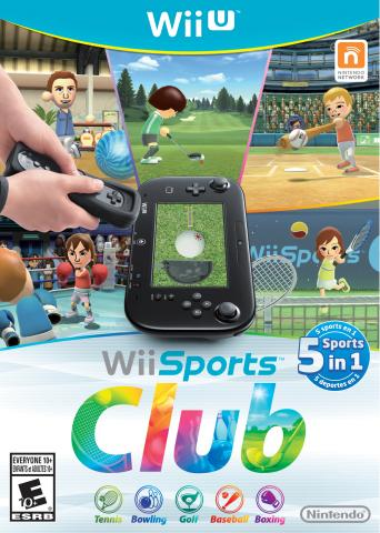Five Sports, One Package: Wii Sports Club Launches in Stores on July 25