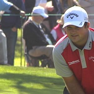 Patrick Reed makes third straight birdie at AT&T Pebble Beach