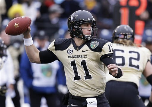 Vanderbilt wins Music City Bowl to cap 9-4 season