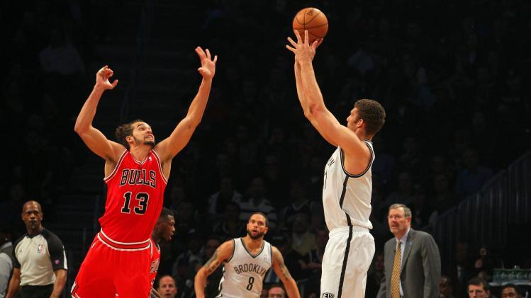 NBA: Playoffs-Chicago Bulls at Brooklyn Nets