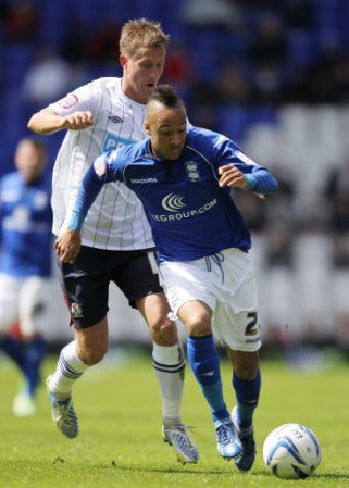 Soccer - npower Football League Championship - Birmingham City v Blackburn Rovers - St Andrew's