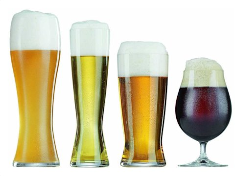 Different Types of Beer Glasses