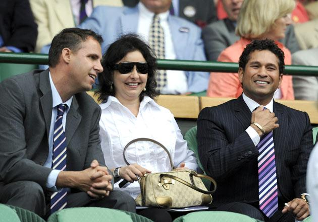Sachin Tendulkar - The family man
