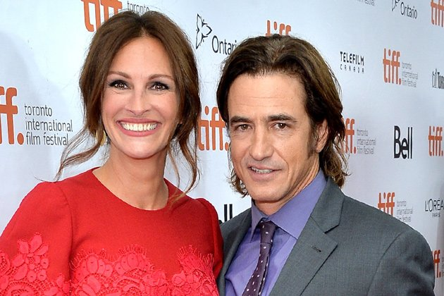 Julia Roberts und Dermot Mulroney beim Filmfestival in Toronto. (Bild: Getty Images)