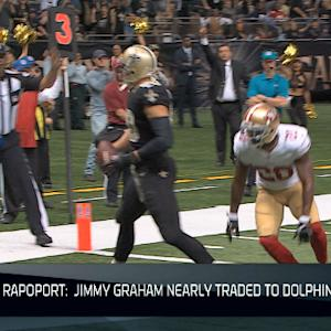Was tight end Jimmy Graham nearly a Miami Dolphin?