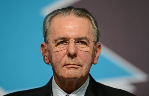 International Olympic Committee President Jacques Rogge gives a press conference at the Olympic Park, east of London. Rogge refused on Saturday to budge over his body's refusal to hold a minute's silence for the Israeli team members murdered at the 1972 Olympics in Munich