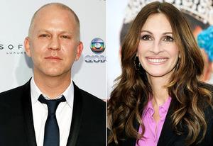 Ryan Murphy, Julia Roberts  | Photo Credits: Robin Marchant/Getty Images, Frazer Harrison/Getty Images