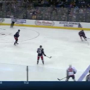 Curtis McElhinney Save on Mike Green (05:15/1st)