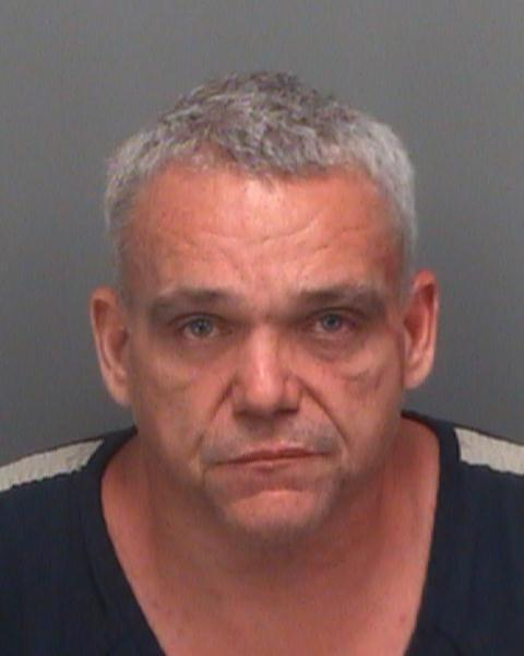 This booking photo provided by the Pinellas County Sheriff's Office shows Anthony Giancola, 45, who was arrested Friday, June 22, 2012, after going on a rampage, stabbing several people — killing at least two — and then driving his car into a crowded porch before attacking two others at a motel, authorities said. (AP Photo/Pinellas County Sheriff's Office)