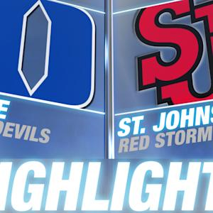 Duke vs St. John's | 2014-15 ACC Men's Basketball Highlights