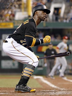 McCutchen homers in 14th, Pirates beat Cards 6-5
