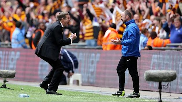 Football - Lawn: Parkinson the man for Bantams