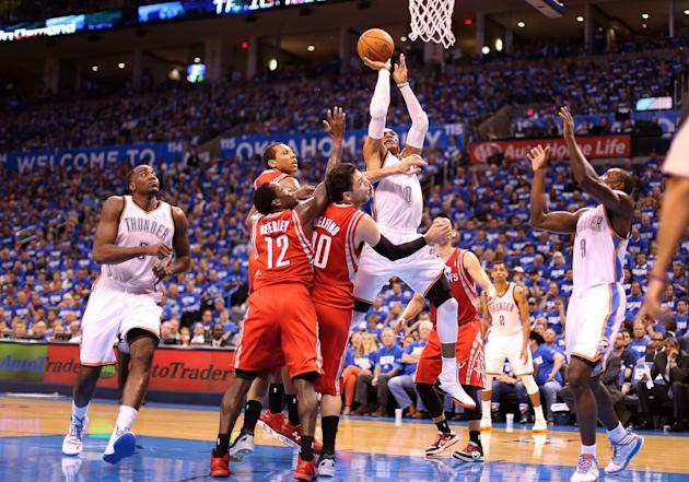 Houston Rockets v Oklahoma City Thunder - Game One