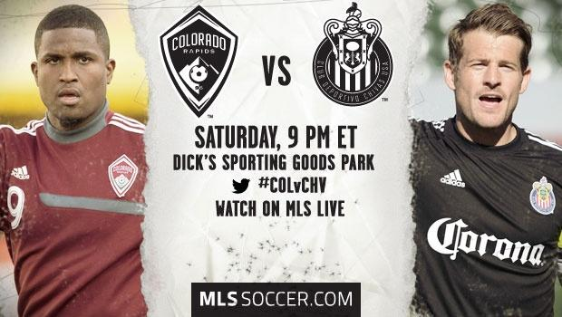 Colorado Rapids vs. Chivas USA | MLS Match Preview