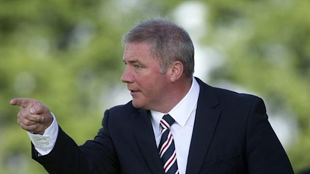 Ally McCoist is still looking to strengthen his side