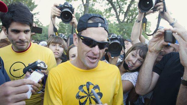 Lance Armstrong Quits Livestrong to Save It