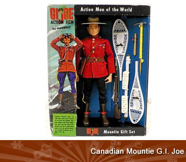 Canadian Mountie G.I. Joe